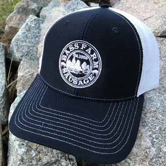 Bass Farm Sausage NC mesh hat